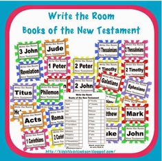 Write the Room: Books of the Bible