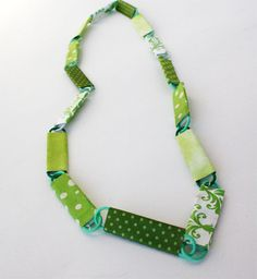 GREAT fine motor in this St. Patrick's Day Craft: DIY Necklace - - Re-pinned by @PediaStaff – Please Visit http://ht.ly/63sNt for all our pediatric therapy pins