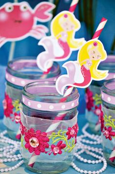 Girly & Cute Under the Sea Party
