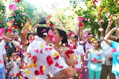 Mayan wedding at the eco-park Kantun-Chi in the Riviera Maya.  Mexico wedding photographers Del Sol Photography