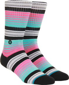 Stance D Wade South Beach Sock - pink - Men's Clothing > Accessories > Socks