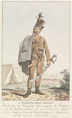 A Pandour From Croatia | Philippe Jacques de Loutherbourg | V&A Search the Collections
