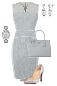 A fashion look from June 2015 featuring sports dress, man bag and Michael Kors. Browse and shop related looks. Classy Outfits, Chic Outfits, Beautiful Outfits, Dress Outfits, Fashion Outfits, Womens Fashion, Business Chic, Business Outfits, Business Wear