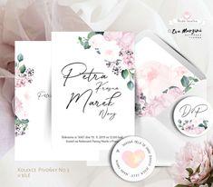 Svatba v růžové s pivoňkami v přírodním a rustikálním stylu. #svatba #budeveselka #boho #beremese #svatebnioznameni #prirodnisvatba #bohosvatba Bude, Diy And Crafts, Invitations, Save The Date Invitations, Shower Invitation, Invitation