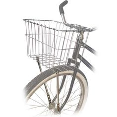 Wald Front Wire Bike Basket 14 1/2 x 9 1/2 x 9 inches(Silver) - Bicycles and gear for every type of riding - Diamondback, Fox, Giant, Haro, Felt