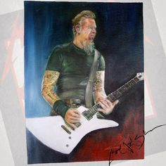 Turn On... I see red Adrenaline crash and crash my head Nitro junkie, paint me dead and y see the Reeeeed a #Artwork made with #passion to my rockmate oil and canvas #art @metallica @papa_het_ #metallica. #paint #metallicafamily #jameshetfield #fmfm #red #llica #metal #rock #guitar #thrash #Metallicaforeveforevemetallica #good #love #pretty #draw #tattoos #music #bestoftheday #Colombia