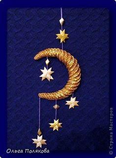 Поделка изделие Новый год Рождество Плетение Новогодние сувениры Соломка фото 3: