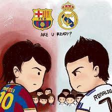 El Clásico. FC Barcelona Vs Real Madrid. Lionel Messi Vs Cristiano Ronaldo. Vamos Barça!!!