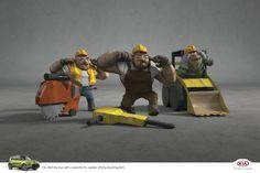 Adeevee - Kia Soul: Bikers, Firemen, Construction