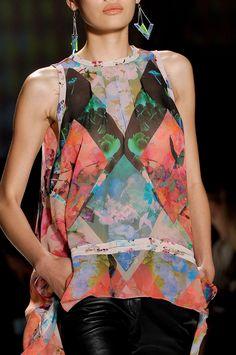 Nicole Miller at New York Fashion Week Spring 2013