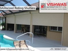 #Motorized #Rolling_Shutters Manufacturer and Suppliers We are the leading company in the market in Vadodara, Gujarat, India, specializing in the manufacture and marketing of automatic #gates, #metal_shutters, #grills for homes and businesses. We have over 22 years of experience and experience that guarantee our seriousness and commitment to our customers.