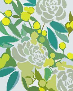 Floral Pattern by Frameless