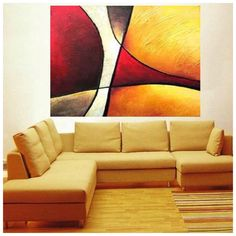 Cuadro abstracto #paintings