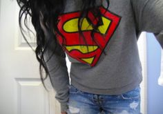 Superman teen shirt