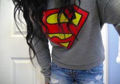 Superman teen shirt