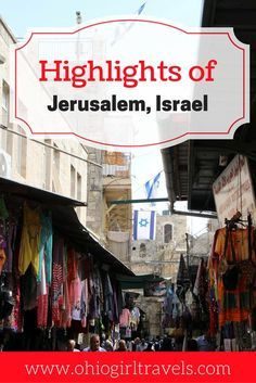 Before visiting Jerusalem, Israel you'll want to check out this extensive guide. This Jerusalem guide includes things to see divided into regions of the city, what makes each region unique, and how to make the most of your time in Jerusalem. Don't forget to save this to your travel board when you're done reading! Jerusalem, Israel | tips for Jerusalem | things to see in Jerusalem | guide to Jerusalem, Israel |