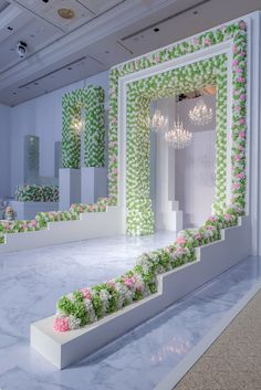 [New] The 10 Best Home Decor (with Pictures) - Who doesn't love floral decoration and that too when they are in pastel? Here is one such inspiration for your floral filled wedding. Source: Posted on work by Wedding Stage Decorations, Backdrop Decorations, Flower Decorations, Backdrops, Wedding Entrance, Wedding Ceremony, Wedding Wows, Luxury Wedding, Floral Arch