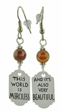 Attack on Titan Inspired Earrings