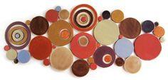 Handmade Bubbles Mosaic Tile in Gelato Blend