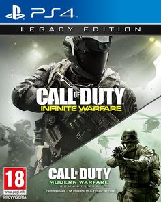 Call of Duty: Infinite Warfare - Legacy Edition - PlayStation 4: Amazon.it: Videogiochi