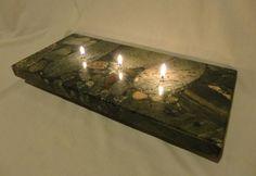 Granite oil candles!