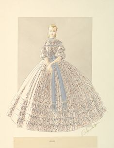 Gowns, Illustrations and More - The Making of Gone With The Wind - Tyranny of Style