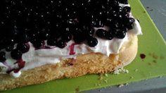 Ze života čtyřmatky: Borůvkový  dortík