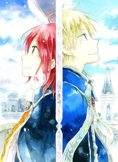 A prince and a not so common commoner, they both come from different world yet they care for each other and know one day they will be together.