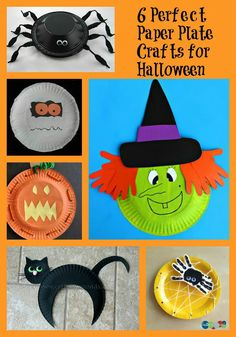 You can take a paper plate and transform it into something delightfully spooky with the kids with these 6 Perfect Paper Plate Crafts for Halloween.