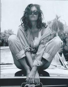 Rosemary McGrotha for DKNY Eyes 1990