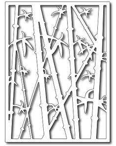 Frantic Stamper Precision Die - Bamboo Card Panel