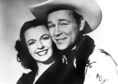 Still of Roy Rogers and Dale Evans in Cowboy and the Senorita. The movie in which this famous and beautiful couple first met !!!!! ♥