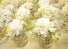 Gypsophila at the table!
