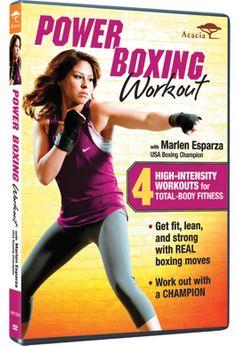 Alcanza tu propósito de año nuevo Boxeando con la medallista Olímpica Marlen Esparza. Participa por la oportunidad de ganar el DVD y entrenar junto a ella #Sorteo