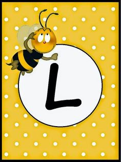 BulutsMom: Arı Temalı Doğum Günü Banner Harfleri Alphabet Style, Monogram Alphabet, Alphabet And Numbers, Spelling Bee, Bee Party, Girl Themes, Borders And Frames, Bee Theme, Peace And Love