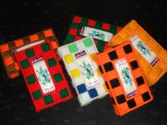 Pocket Tissue holders by cecrafts on Etsy, $3.00