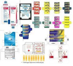 Medicines (Pg.4) | MINIATURE PRINTABLES