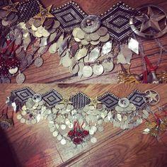 Assuit Belt Tribal Fusion bellydance costume 32/35''