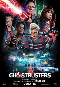 Ghostbusters. Paul Feig (2016) 15.08.2016