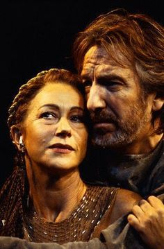 Theatre: Antony and Cleopatra. Helen Mirren and Alan Rickman. What I wouldn't…