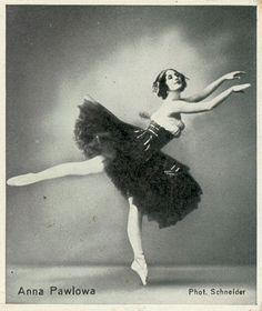 Anna Pavlova. Photo by Schneider.
