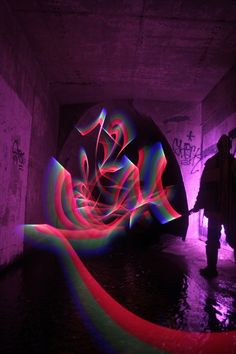Light Writing in Abandoned Areas