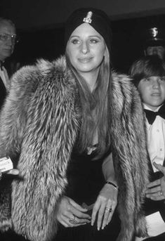 23rd October 1973 American actor and singer Barbra Streisand
