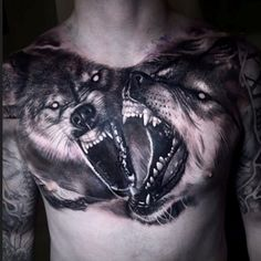 Chest tattoo quotes, wolf tattoo back, small wolf tattoo, wolf tattoo Chest Tattoo Wolf, Chest Tattoo Quotes, Wolf Tattoo Back, Small Wolf Tattoo, Wolf Tattoo Sleeve, Chest Piece Tattoos, Body Art Tattoos, Tattoo Drawings, Wolf Tattoo Design