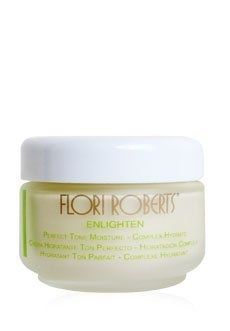 Flori Roberts Enlighten Perfect Tone Moisture - Complex Hydrate 2 oz. A luxurious crème that enriches normal to dry skin leaving it soft, supple and extremely hydrated while addressing the factors that cause dullness, uneven skin tone, dark spots and aging.