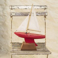 Boat for summer decorations