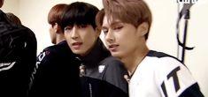 Wonwoo and Jun Fighting! gif