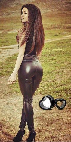 Addict Simili (@SimiliAddict) | Twitter Grey Fashion, Leather Fashion, Tights, Leggings, Hot Outfits, Jada, Women Lingerie, Leather Pants, Sexy