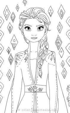 ausmalbilder bruni von die eiskönigin 2 | ausmalbilder, disney prinzessin malvorlagen