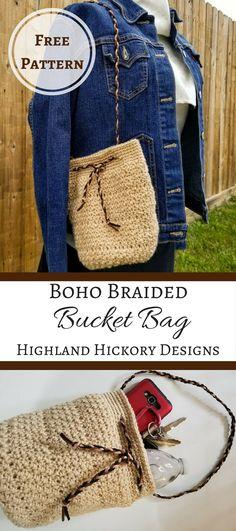 Boho braided bag